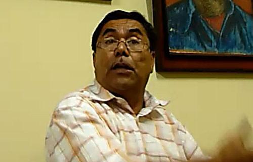Domingo Perez, General Secretary of UNE