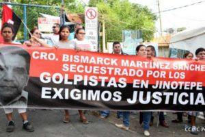Bismarck Martinez's family demand justice for his murder