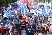 Nicaraguans reject violence and celebrate return to peace and stability